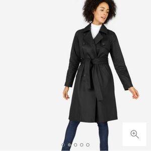 Everlane Black Trench Coat